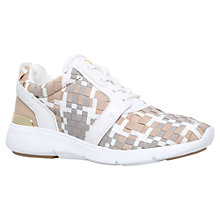 Buy MICHAEL Michael Kors Amanda Fabric Trainers Online at johnlewis.com