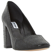 Buy Dune Acapela Block Heeled Court Shoes Online at johnlewis.com