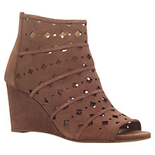 Buy MICHAEL Michael Kors Uma Perforated High Wedge Heel Sandals Online at johnlewis.com