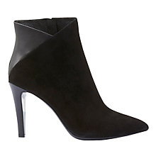 Buy Mint Velvet Cheryl High Heel Ankle Boots, Black Online at johnlewis.com