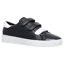 Buy MICHAEL Michael Kors Craig Triple Strap Trainers Online at johnlewis.com