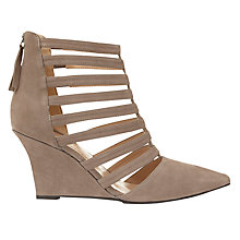 Buy Mint Velvet Orla Suede Court Shoes, Taupe Online at johnlewis.com