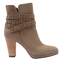 Buy Mint Velvet Simone Suede Block Heeled Ankle Boots Online at johnlewis.com