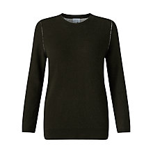 Buy Jigsaw Double Face Seam Detail Jumper Online at johnlewis.com