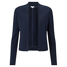 Buy Jigsaw Edge to Edge Jersey Jacket, Navy Online at johnlewis.com