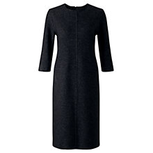 Buy Jigsaw Speckled Wool Dress, Charcoal Online at johnlewis.com