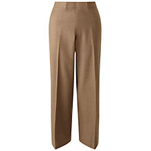 Buy Jigsaw Wool Flannel Cropped Trousers Online at johnlewis.com