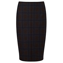 Buy Jigsaw Milano Skirt, Charcoal Online at johnlewis.com