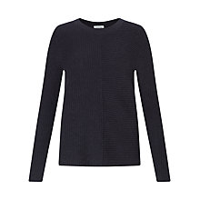 Buy Jigsaw Half Ribbed Jumper Online at johnlewis.com