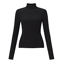 Buy Miss Selfridge Ribbed Roll Neck Jumper Online at johnlewis.com