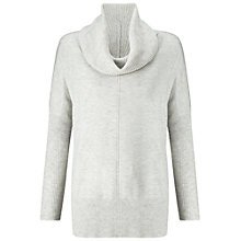 Buy Miss Selfridge Lightweight Knit Jumper, Grey Online at johnlewis.com