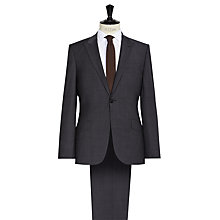 Buy Reiss Gaffer Modern Fit Peak Lapel Suit, Charcoal Online at johnlewis.com