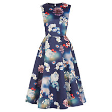 Buy Oasis Photographic Midi Dress, Multi Online at johnlewis.com