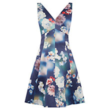 Buy Oasis Photographic Skater Dress, Multi Online at johnlewis.com