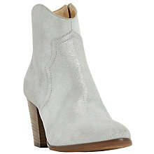 Buy Dune Priscil Western Ankle Boots Online at johnlewis.com