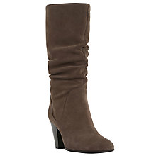 Buy Dune Rossy Pull On Calf Boots Online at johnlewis.com