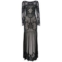 Buy Raishma Embellished Sheer Maxi Dress, Black Online at johnlewis.com