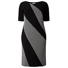Buy Studio 8 Rita Dress, Black/Grey Online at johnlewis.com