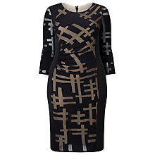 Buy Studio 8 Hermione Dress, Black Online at johnlewis.com