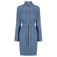Buy Oasis Belinda Shirt Dress, Denim Online at johnlewis.com
