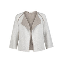 Buy Hobbs Libby Jacket, Pale Grey Marl Online at johnlewis.com