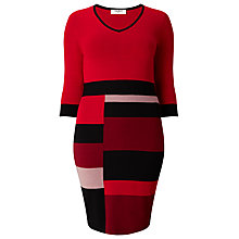 Buy Studio 8 Carolyn Dress, Red Online at johnlewis.com