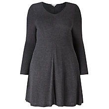 Buy Studio 8 Georgia Swing Tunic Top, Charcoal Online at johnlewis.com