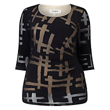 Buy Studio 8 Joyce Top, Black Online at johnlewis.com