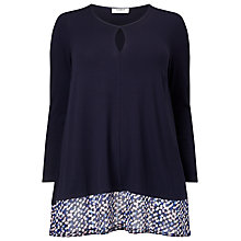 Buy Studio 8 Hattie Top, Navy Online at johnlewis.com