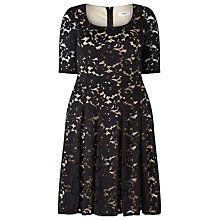 Buy Studio 8 Viola Dress, Black Online at johnlewis.com
