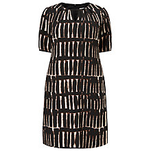 Buy Studio 8 Cherie Dress, Stone/Black Online at johnlewis.com