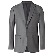Buy Jigsaw Italian Flannel Slim Fit Suit Jacket, Grey Online at johnlewis.com