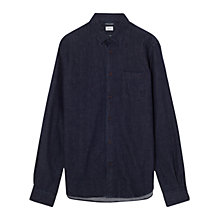 Buy Jigsaw Slim Fit Denim Shirt, Denim Online at johnlewis.com