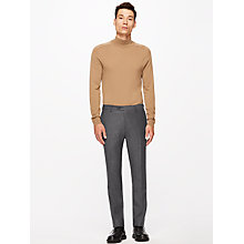 Buy Jigsaw Italian Flannel Slim Fit Suit Trousers, Grey Online at johnlewis.com