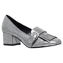 Buy Carvela Agatha Buckle Fringe Block Heeled Court Shoes Online at johnlewis.com