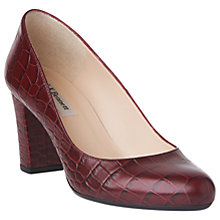 Buy L.K. Bennett Sersha Block Heeled Court Shoes Online at johnlewis.com