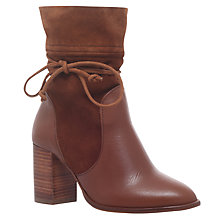 Buy Kurt Geiger Demi Mid Heel Ankle Boots Online at johnlewis.com