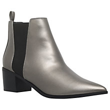 Buy Miss KG Senta Pointed Toe Ankle Boots, Gunmetal Online at johnlewis.com
