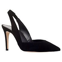 Buy Carvela Acorn Pointed Toe Court Shoes, Black Online at johnlewis.com