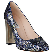 Buy L.K. Bennett Manila Block Heeled Court Shoes Online at johnlewis.com