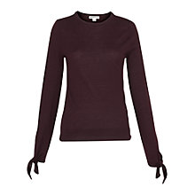 Buy Whistles Tie Cuff Sleeve Top Online at johnlewis.com
