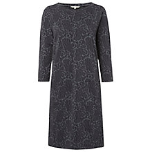 Buy White Stuff Philippa Jersey Dress, Geo Grey Online at johnlewis.com