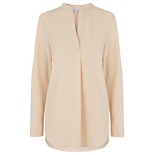 Buy Warehouse Half Placket Blouse Online at johnlewis.com