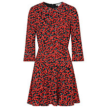 Buy Whistles Anjelica Cherry Print Dress, Red Multi Online at johnlewis.com