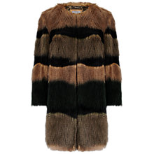 Buy Grace & Oliver Abby Faux Fur Coat, Multi Online at johnlewis.com