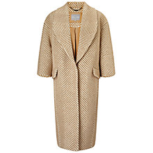 Buy Grace & Oliver Aimee Wool Cocoon Coat, Camel Online at johnlewis.com