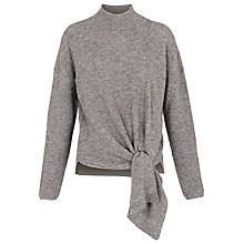 Buy Whistles Tie Side Rib Jumper Online at johnlewis.com