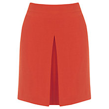 Buy Warehouse Box Pleat Pelmet Skirt, Bright Red Online at johnlewis.com