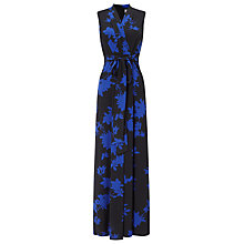 Buy Phase Eight Sacha Print Jumpsuit, Cobalt/Black Online at johnlewis.com