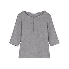 Buy Gerard Darel Garance Blouse, Light Grey Online at johnlewis.com